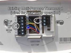 Trane Heat Pump Thermostat Wiring Diagram