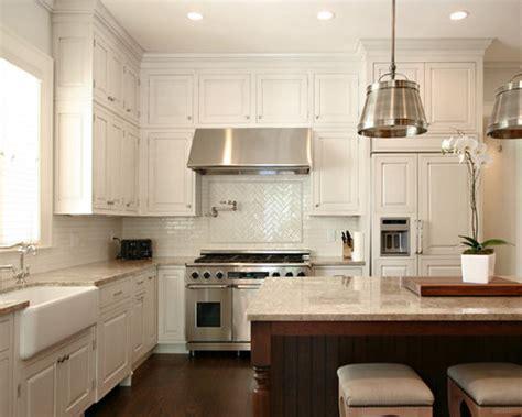 tile backsplash  white cabinets houzz
