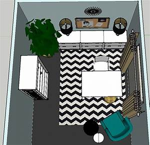 Design Plan   A Trendy, Glam Home Office — DESIGNED