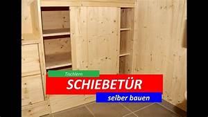 Türen Selber Bauen : schiebet ren selber bauen tutorial youtube ~ Watch28wear.com Haus und Dekorationen