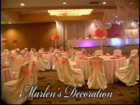 Sweet 15 Theme By Marlen's Decoration  Youtube