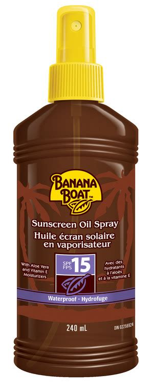 Banana Boat Sunscreen Good Or Bad by Banana Boat Sunscreen Oil Spray Spf 15 Reviews