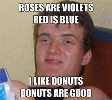 Really Stoned Guy Meme - really high guy meme hilarious memes roses are violets i like donuts