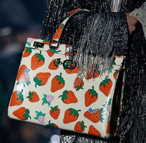 finally  bag   guccis spring  runway show purseblog