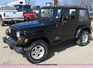 2005 Jeep Wrangler X Soft Top Suv