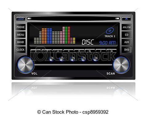 loud car radio clipart clipground