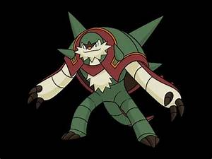Shiny Chesnaught Female in pokemon X Y - YouTube