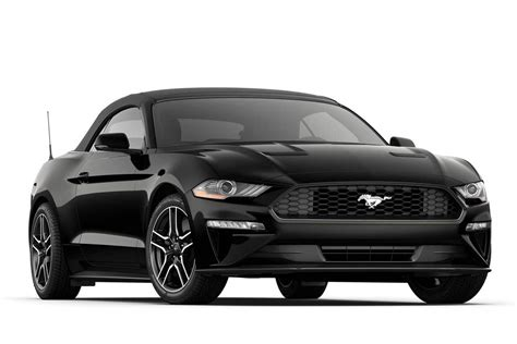 ford mustang ecoboost premium convertible sports car