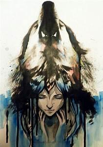 Beautiful wolf girl tattoo | tattoos | Pinterest ...