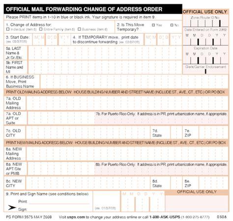 us postal change of address form free usps form 3575 change of address online autos post