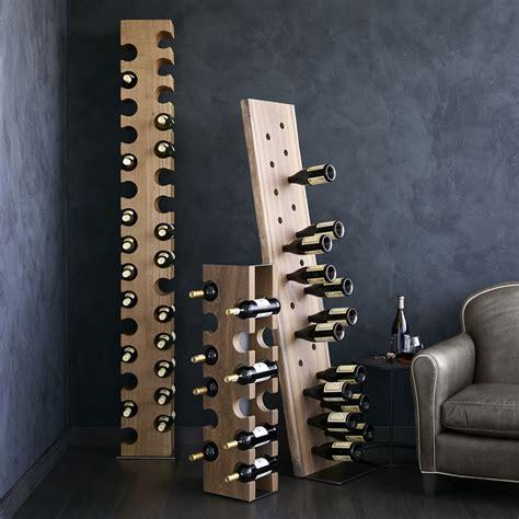big sur natural  bottle standing wine rack
