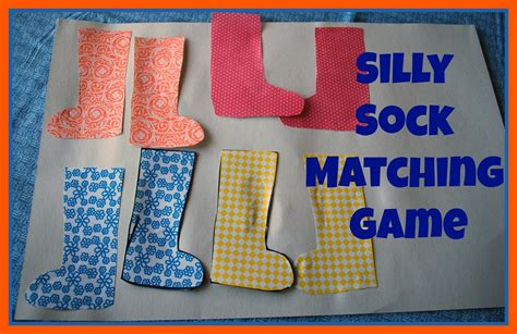 matching game silly sock matching mess for less