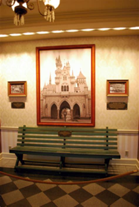 Walt Disney Bench by Timestream Software S Disneyland Mobile Guide