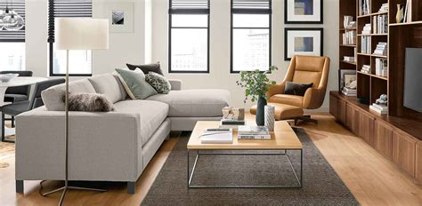 Decorating Ideas for a Small Living Room Room & Board