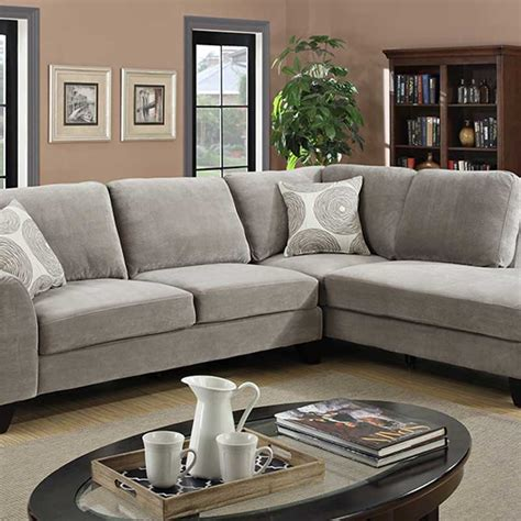 malibu gray sectional the furniture shack discount