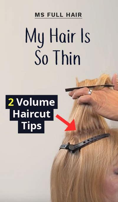 haircuts  volume  crown show