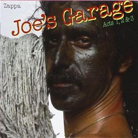 Frank Zappa Joe's Garage Acts I Ii Iii Remastered Cd Uk 2