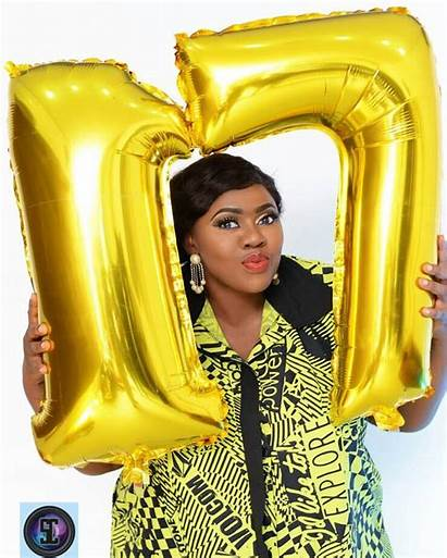 Birthday 17th Ify Photoshoot Okeke Actress Nollywood