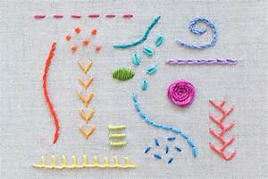 15 Stitches Every Embroiderer Should Know