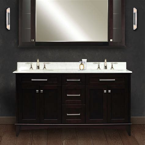 double sink bathroom vanity  realistic review
