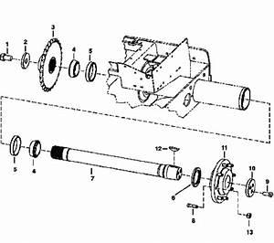 Bobcat Axle    Wheel Bearings 6519925