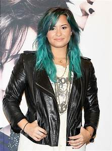 Demi Lovato | 13 Celebrities With Green Hair | Us Weekly