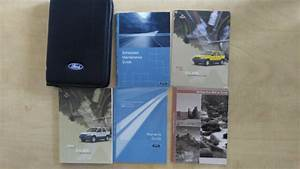 2003 Ford Escape Owners Manual Set