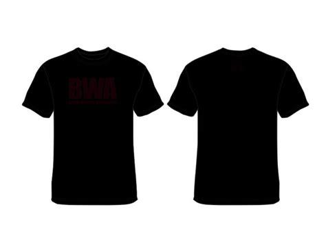 big bwa  shirt black bwa