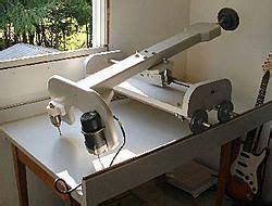 duplicating carving machine   built