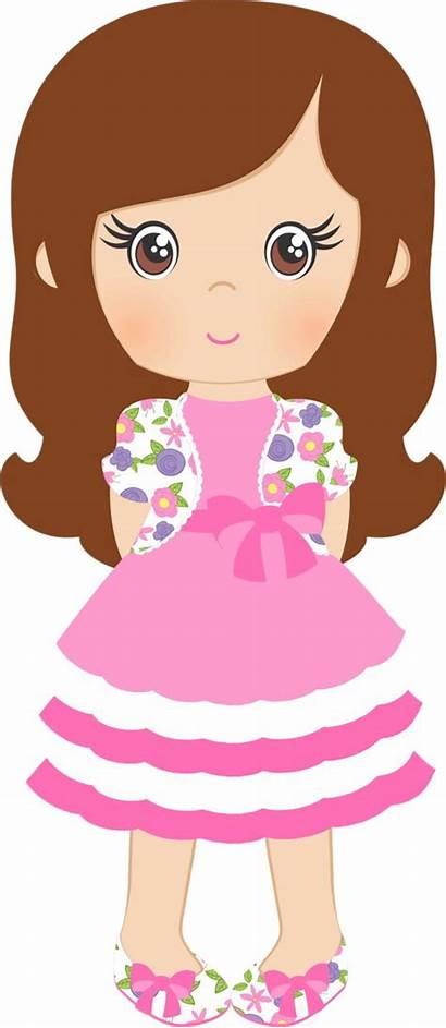 Clipart Clip Shabby Chic Doll Summer Spring