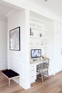 built in desk Creative Ways to Incorporate Built-In Cabinetry