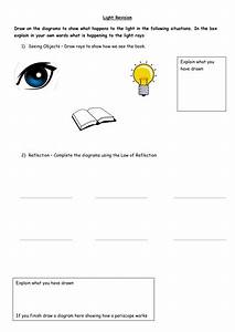 Light Revision Worksheet By Klawrie1107