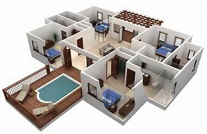 Home Design: Delectable 3D House Plans And Design 3d House ...