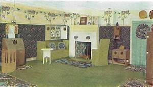 MH Baillie Scott Arts & Crafts movement style dining room ...