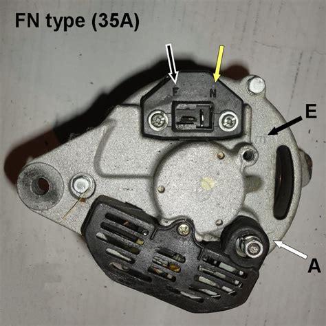 hitachi alternator wiring qs adapter