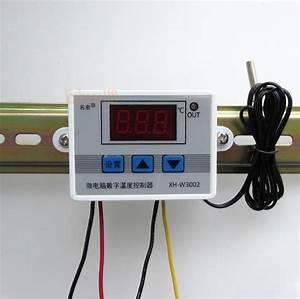 W3002 220v 12v 24v Digital Temperature Controller 10a