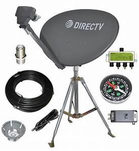 Directv Swm Sl3s Portable Satellite Rv Kit For Camping Or