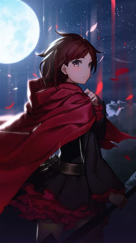 wallpaper rwby eshi full moon  anime