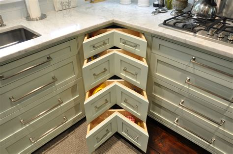 how to make kitchen cabinet drawers pretty corner kitchen drawers with l shaped kitchen 8745