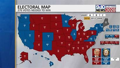 Electoral Votes Election College Map Michigan President