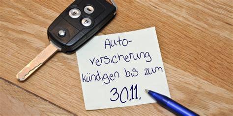 auto versicherung kfz versicherung k 252 ndigungsfrist