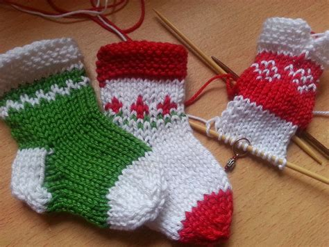 knitshop co uk knit christmas mini stockings for your tree