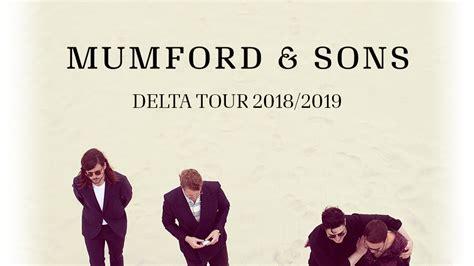 mumford sons ottawa tickets mumford sons delta tour 2018 19 fan experience ticket