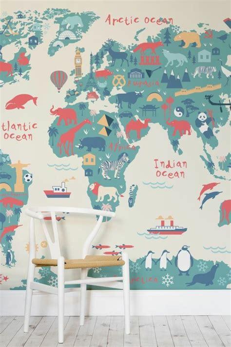 poster chambre enfant le poster carte du monde g 233 ante vous donne envie 224 voyager