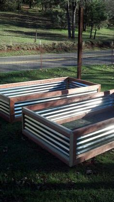 raised galvanized steel planter box  peter built easy