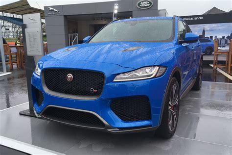 New Jaguar F-pace Svr Makes Uk Debut
