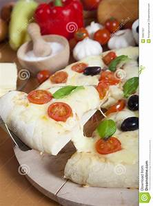Slice Of Delicious Italian Pizza Royalty Free Stock ...