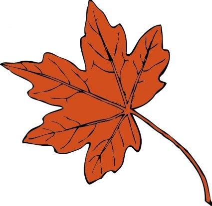 leaves clip art pictures clipartix