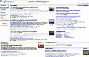Google News Deutschland vs. USA - wo geht die Reise hin ...