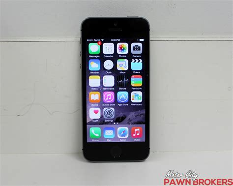 iphone 5s sprint apple iphone 5s ne332ll a 16 gb space gray sprint